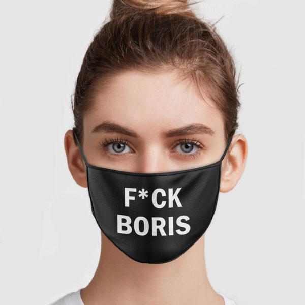 Fuck Boris Face Mask