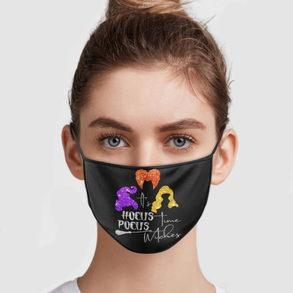Hocus Pocus – It's Time Witches Face Mask