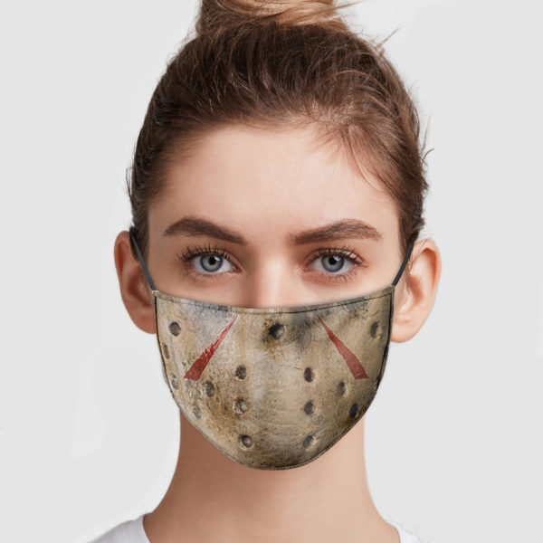 Jason Voorhees Mouth Face Mask