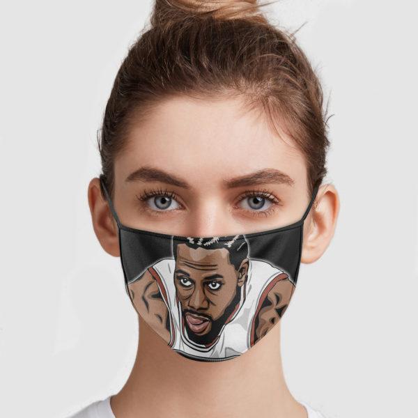 Kawhi Leonard Face Mask