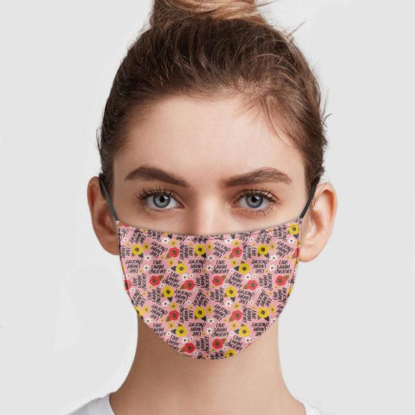 Namaste The Fuck Away Face Mask