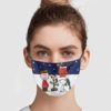 Snoopy And Charlie Brown Christmas Face Mask