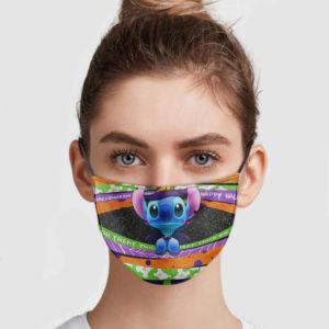 Stitch Happy Halloween Face Mask