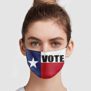Texas Vote Face Mask