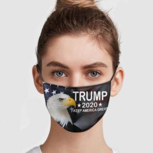 Trump America Eagle – Keep America Great Face Mask
