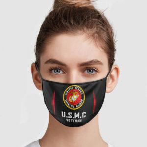 USMC Veteran Face Mask