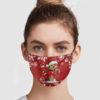 Yorkshire Terrier Christmas Face Mask
