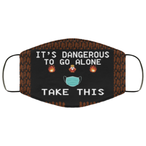 Video Game – It's Dangerous To Go Alone – Take This Face Mask