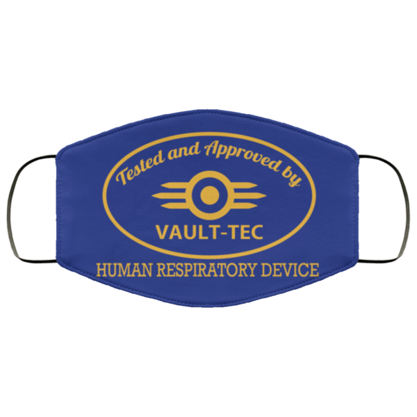 Tested And Approved By Vault-tec – Human Respiratory Device Face Mask