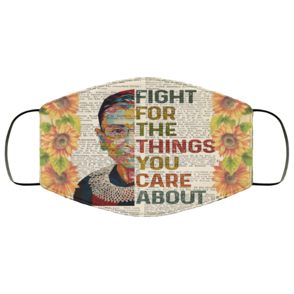 RGB – Fight For The Things You Care About Face Mask