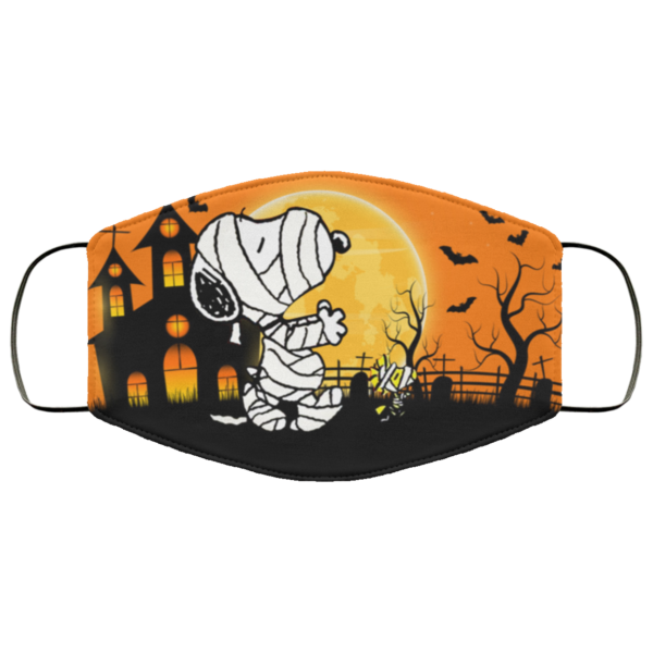 Snoopy Halloween Face Mask