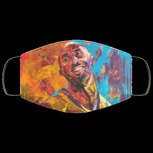Kobe Bryant Painting Face Mask