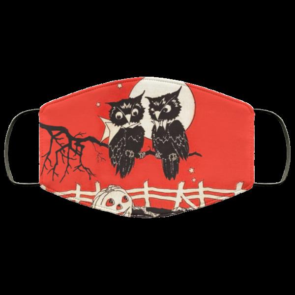 Owl Halloween Face Mask