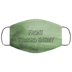 Front Toward Enemy Claymore Face Mask