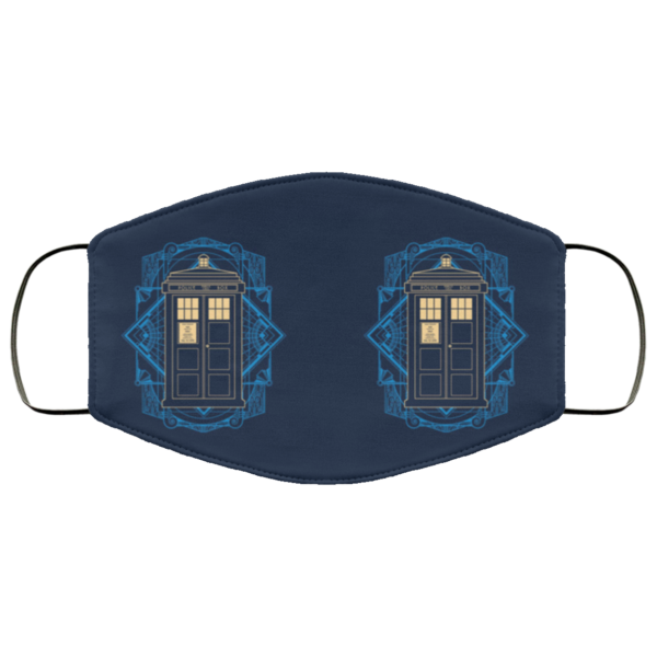Doctor Who – Police Box Face Mask