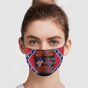 Confederate Flag – These Colors Don't Run They Reload Face Mask
