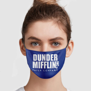 Dunder Mifflin Paper Company Face Mask