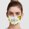 Girl – Who Really Loved Snoopy It Was The End Face Mask
