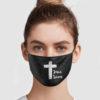 Jesus Saves Face Mask