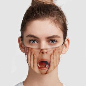 Kevin McCallister Shocked Face Mask