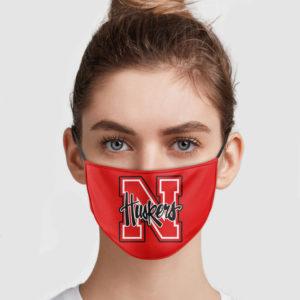 Nebraska Cornhuskers Face Mask