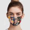 Ruth Bader Ginsburg Superheroes Face Mask