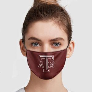 Texas A&M Face Mask