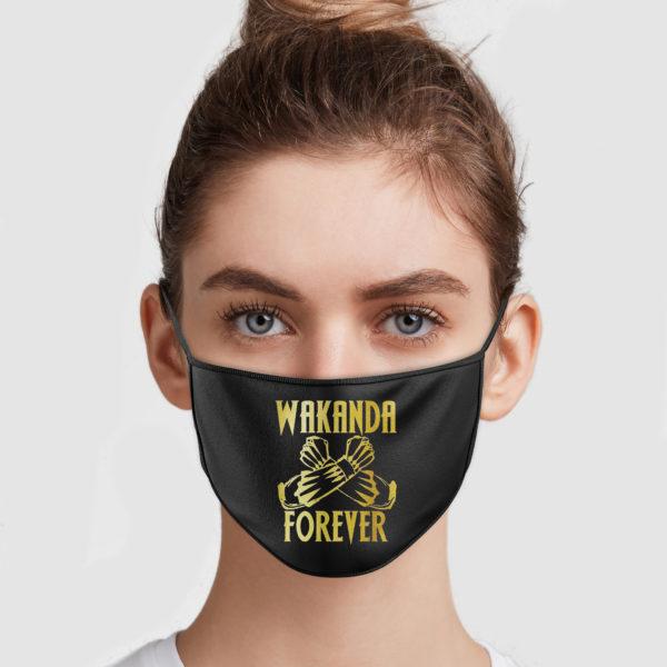 Wakanda Forever Cloth Face Mask