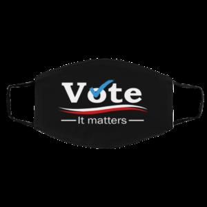Vote – It Matters Face Mask