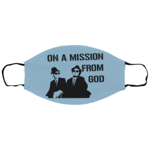 The Blues Brothers – On A Mission From God Face Mask