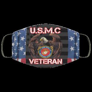 U.S.M.C Veteran Face Mask