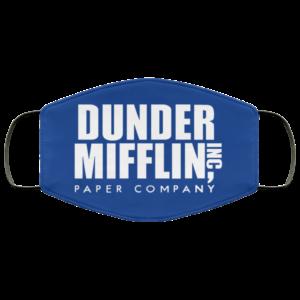 Dunder Mifflin Papper Company Face Mask