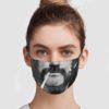 Lemmy Kilmister Smoke Face Mask