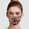 Mike Leach Football Face Mask