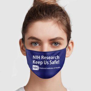 NIH Research Keeps Us Safe Face Mask