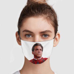 Nick Saban Face Mask
