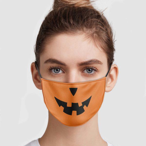 Pumpkin Horror Face Mask