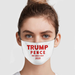 Trump Pence – Keep America Great 2020 Face Mask