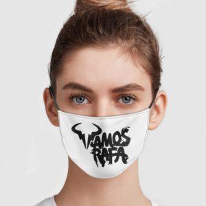 Vamos Rafa Face Mask