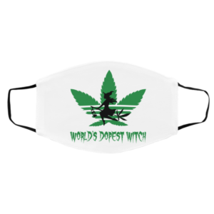 Cannabis – World's Dopest Witch Face Mask