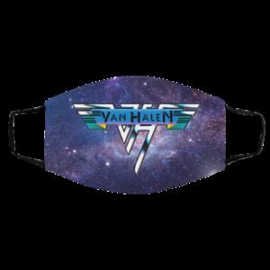 Van Halen Galaxy Face Mask
