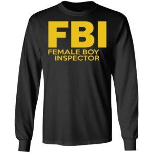 Female Boy Inspector Shirt