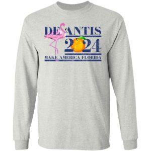 Flamingo Desantis 2024 Make America Florida Shirt