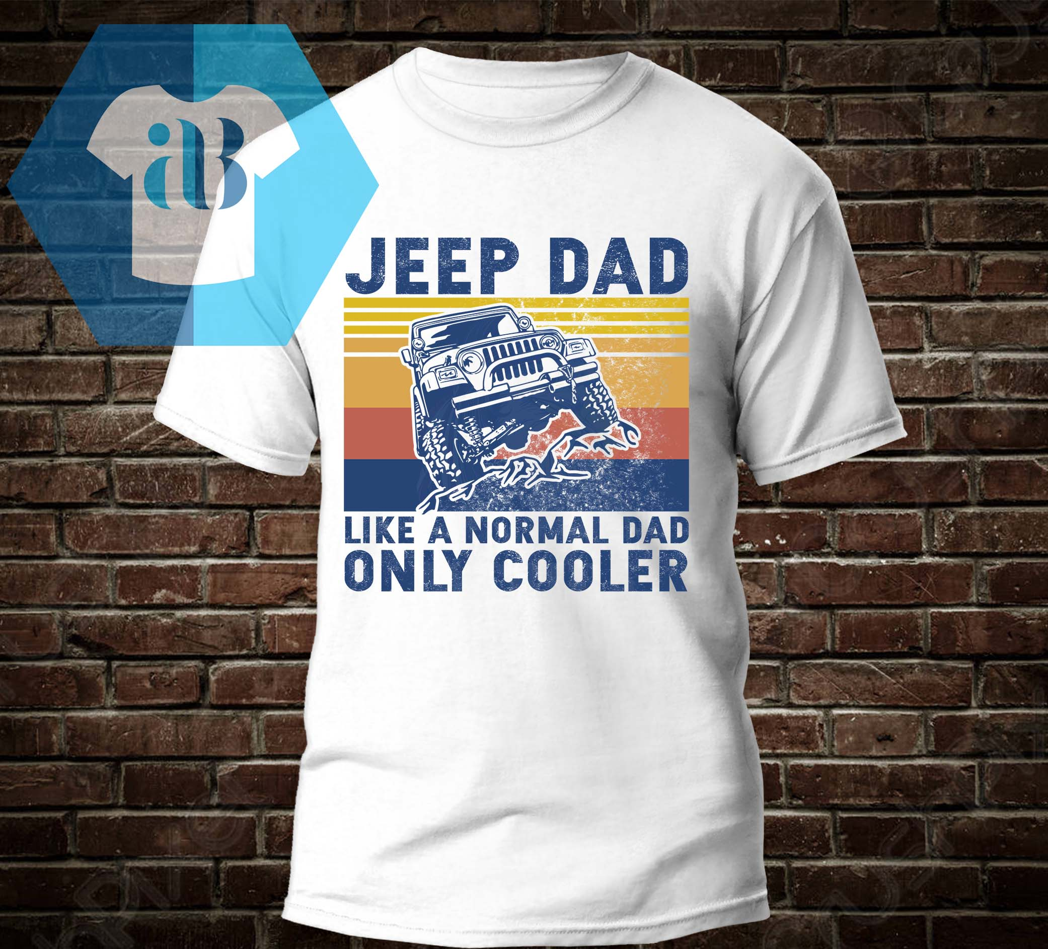 Jeep Dad Like A Normal Dad Only Cooler Shirt