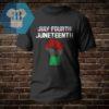 Julyfourth - Juneteenth Shirt