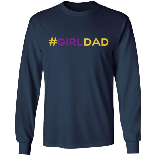 #GIRLDAD – Girl Dad Kobe Father Of Daughter Shirt