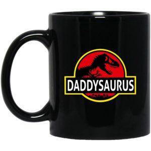 Daddy Saurus Mugs