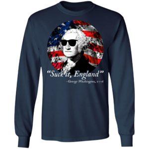4th Of July – Suck It England – George Washington 1776 Shirt