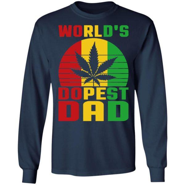 World's Dopest Dad Shirt