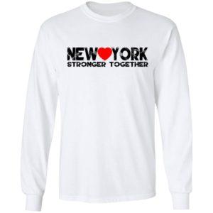 I Love New York Stronger Together Shirt